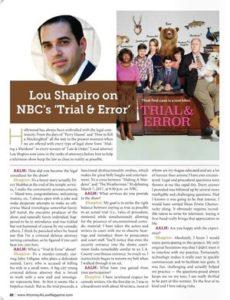 Lou Shapiro on NBC's 'Trial & Error'